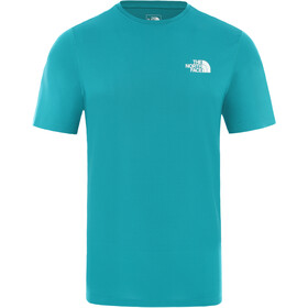 The North Face Flex II Camisa Manga Corta Hombre, fanfare green